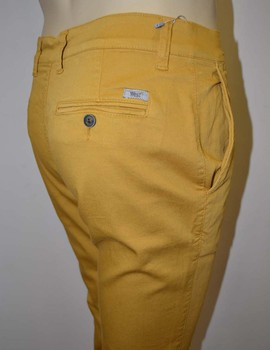 Pantalón Chino WEST  Chico Elastico Ocre