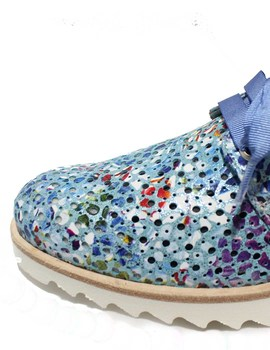 Guell Zapato Vitelo Cordón Cordón Vitelo Guell Azul Zapato Zapato Azul Cordón Guell Vitelo XZwkTPiuO